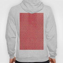 Modern black pink yellow watercolor chevron polka dots pattern Hoody