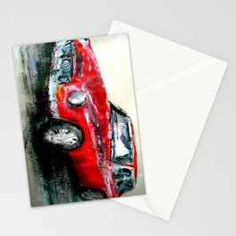 MG 1969 Classic Car Acrylics On Paper Stationery Cards