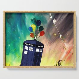 Tardis Dr. WHO Serving Tray