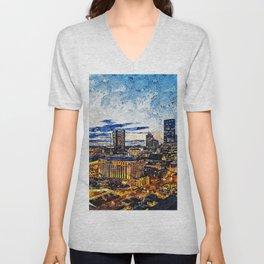 Nashville, Tennessee Unisex V-Neck