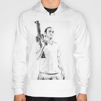 grand theft auto Hoodies featuring Grand Theft Auto 5 by Chris Samba