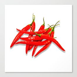 Spicy red pepper Canvas Print