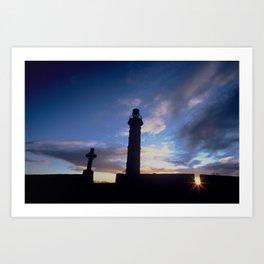 Spire of Lloyd (Inland Lighthouse), Kells, Co. Meath, Ireland Art Print