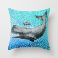 New Friends 3 by Eric Fan and Garima Dhawan Throw Pillow