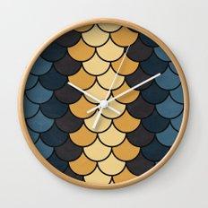Autumn Color Wall Clock