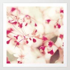 Cherries & Whipped Cream Art Print
