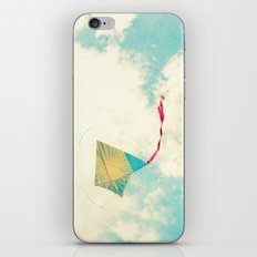 Our Heart is Like a Kite iPhone & iPod Skin