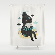 We are inseparable! Shower Curtain