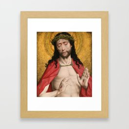 Dirk Bouts, Christ Crowned With Thorns, 1470 Framed Art Print