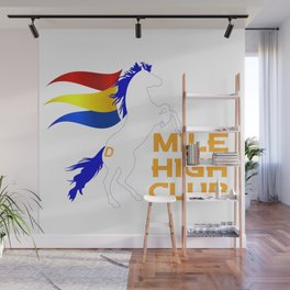 Mile High Club Wall Mural
