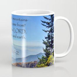 Psalms 121:1-2 Coffee Mug