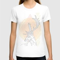 antlers T-shirts featuring Antlers by Heidi Banford