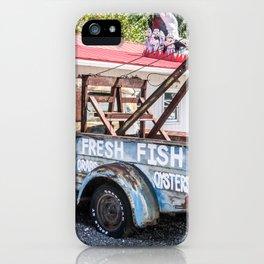 Fresh Fish Truck iPhone Case