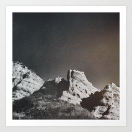 Dusty Canyon Art Print