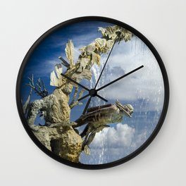 Cozumel's Door Wall Clock