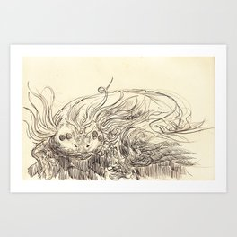 Underwaters Art Print