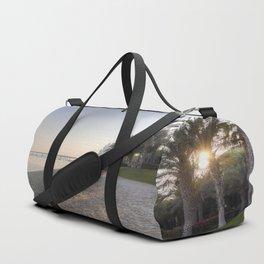 Dubai Beach Sunset Duffle Bag