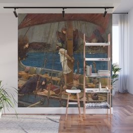 Ulysses and the Sirens - John William Waterhouse Wall Mural