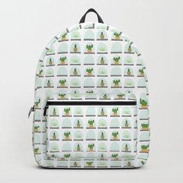 Terrarium | on White Backpack