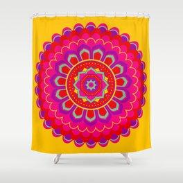 Masala Mandala Shower Curtain