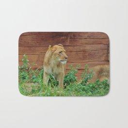 African Lioness Bath Mat