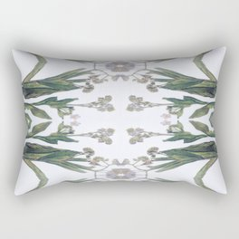 Forget Me Nots Study Rectangular Pillow