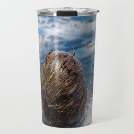 Coconut in Sea-foam III Travel Mug