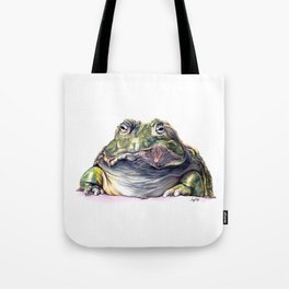 Bullfrog Snacking Tote Bag