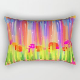 Flower tulip paint garden Rectangular Pillow