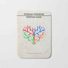 Eternal Sunshine of the Spotless Mind Alternate and Minimalist Poster Bath Mat