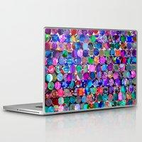 polka dot Laptop & iPad Skins featuring Bright polka dot(4). by Mary Berg