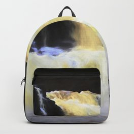 Abstract Waterfall Backpack