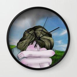 Dark Cloud Wall Clock