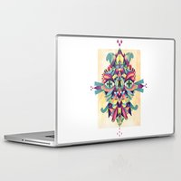 mask Laptop & iPad Skins featuring Mask by Cobrinha