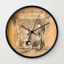 Time for a Dance Wall Clock