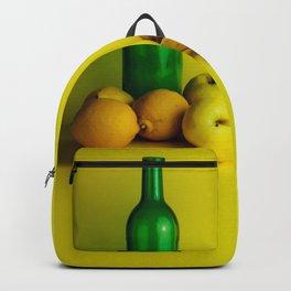 Lemon lime - still life Backpack