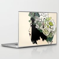 geisha Laptop & iPad Skins featuring Geisha by Hypathie Aswang