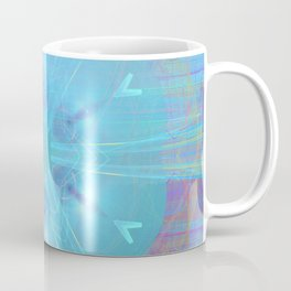 Mysterious lights in the forest Coffee Mug