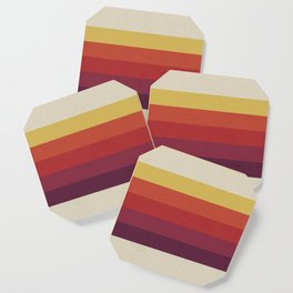 Retro Video Cassette Color Palette Coaster