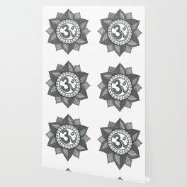 Om Mandala Wallpaper