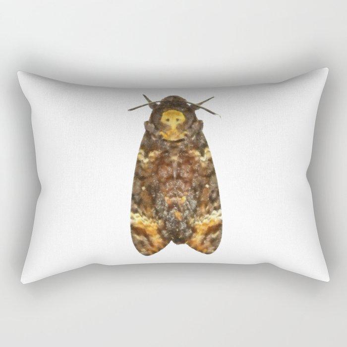 Hawkmoth Rectangular Pillow