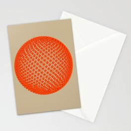 Fibo Orb (red) Stationery Cards
