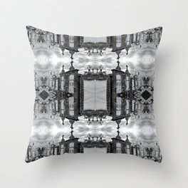 New Orleans Cemetery - Mirror Throw Pillow