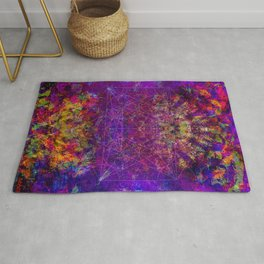 Love Portal to the Moon Rug