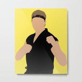 Johnny Lawrence Cobra Kai karate Metal Print