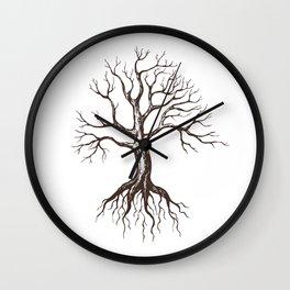 Bare tree Wall Clock