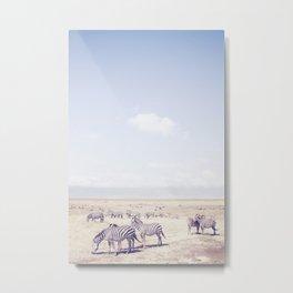 Ngorongoro Crater Metal Print