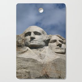 George Washington And Thomas Jefferson  - Mount Rushmore Cutting Board