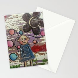 crazy hair day Stationery Cards