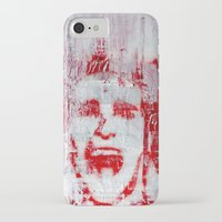american psycho iPhone & iPod Cases featuring AMERICAN PSYCHO by John McGlynn